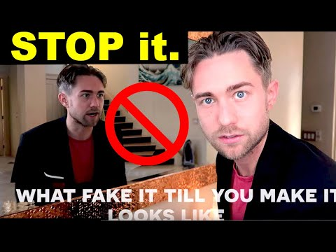"""STOP """"Faking it Till You Make it"""" and instead do this"""