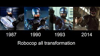 Robocop transformation in movies [ 1987- 1990- 1993- 2014 ]