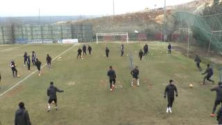 futbolda ısınma warmp up for football
