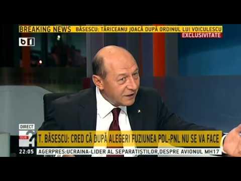 """Traian Băsescu, la """"Sub semnul întrebării"""", cu Robert Turcescu - 9 septembrie 2014"""