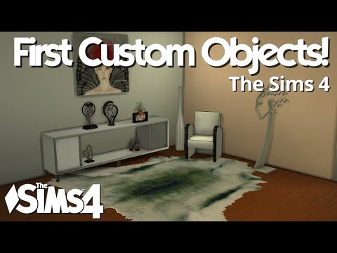 The Sims 4 - The First Custom Objects!