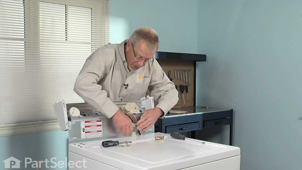 washer repair replacing the direct drive motor coupling whirlpool part 285753a youtube. Black Bedroom Furniture Sets. Home Design Ideas