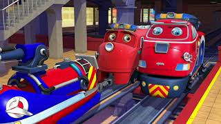 🇺🇸  Chuggington (US) - Bumper to Bumper Compilation - Cartoons for Kids
