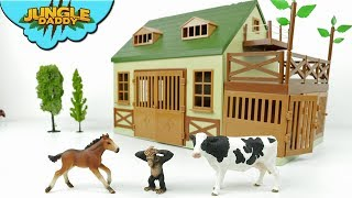 Terra ANIMAL HOSPITAL - Learn animals for kids zoo farm barn jungle schleich