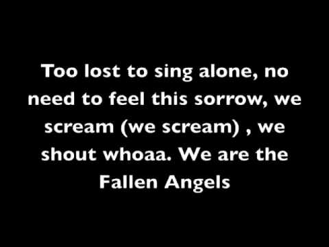 Fallen Angels Lyrics- Black Veil Brides video
