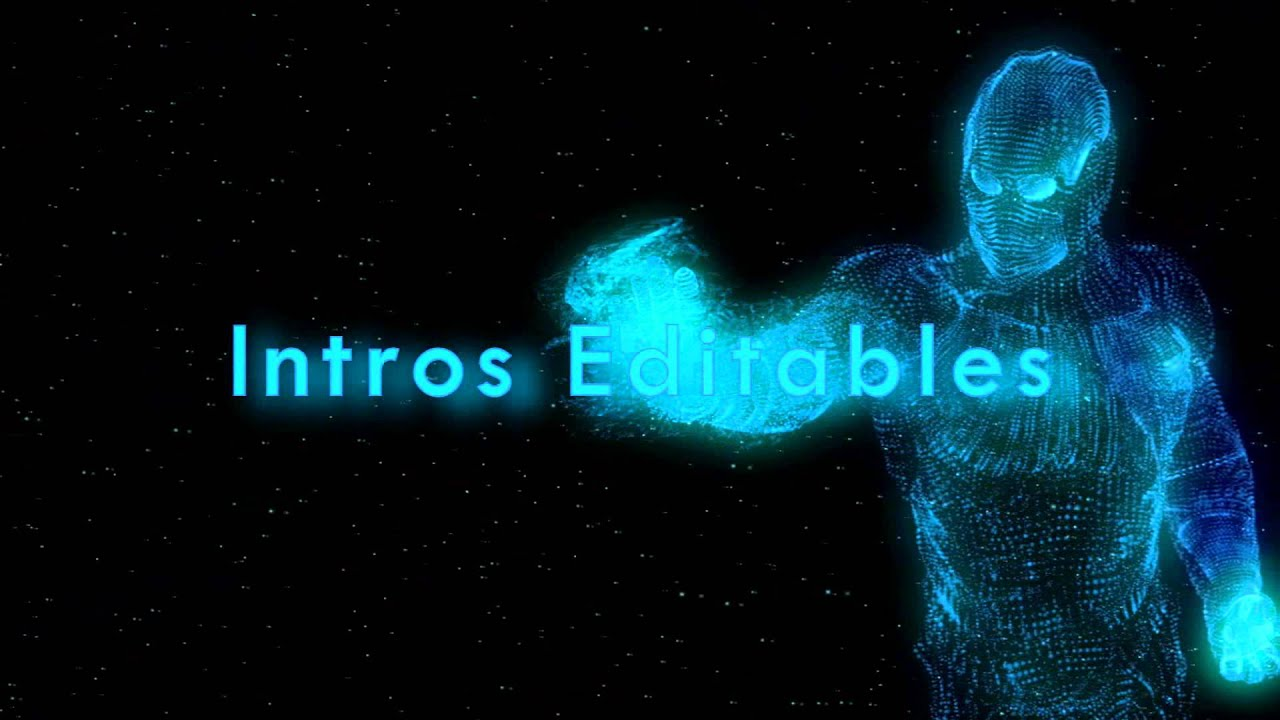 imovie intros templates - intro iron man editable template sony vegas hd youtube