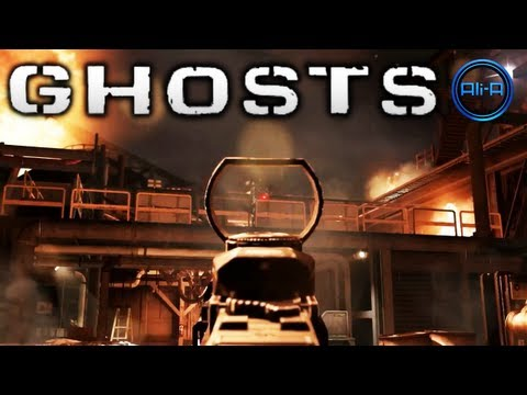 Call of Duty: Ghosts MULTIPLAYER info! - DLC Xbox One, Sliding, Maps & More! (COD Ghost 2013 Online)
