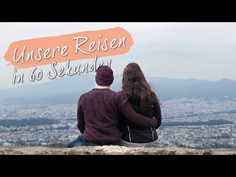 UNSERE REISEN in 60 SEKUNDEN • Reiseskizzen Kanal-Trailer