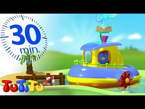 Игрушки для малышей | Прибор для мыльных пузырей | 30 минут ТуТиТу Игрушки