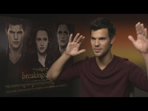 Taylor Lautner on Twilight: Breaking Dawn Part 2 - the full interview