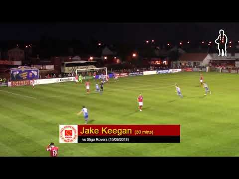 Goal: Jake Keegan (vs Sligo Rovers 15/09/2018)