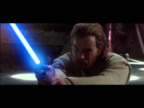 Anakin And Obi-Wan VS Count Dooku (1080p)