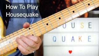 Watch Prince Housequake video