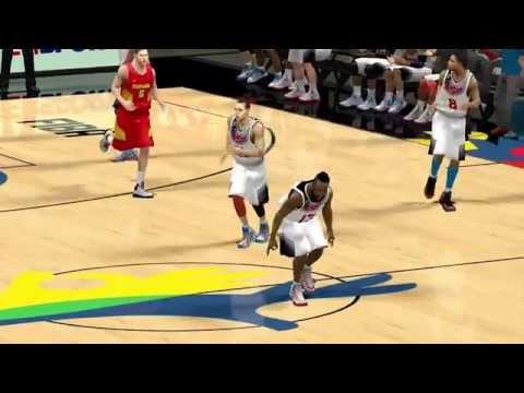 FIBA 2K14 World cup Spain 2014