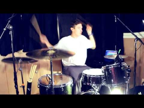 Christian Logue | Miley Cyrus | Wrecking Ball (Drum Cover)