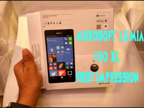 [Hindi - हिन्दी] Microsoft Lumia 950 XL Unboxing, First Impression and Camera Quality