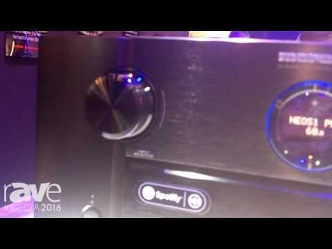 CEDIA 2016: Marantz Showcases SR7011 Surround Receiver with HEOS