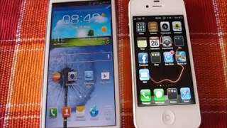 Samsung Galaxy S3 vs Apple iPhone 4s