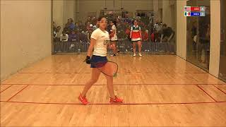 2017 Racquetball Junior World Championships - Girls 18 Doubles - USA vs MEX