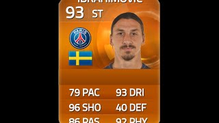 FIFA 15 MOTM IBRAHIMOVIC 93 Player Review & In Game Stats Ultimate Team