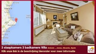 3 slaapkamers 3 badkamers Villa te Koop in Ambolo ., Javea, Alicante, Spain