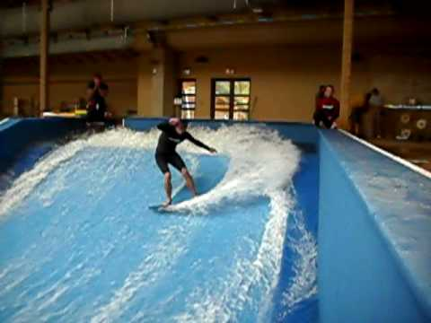 Split Rock Resort - H2oooohh! Indoor Waterpark - Flowrider video
