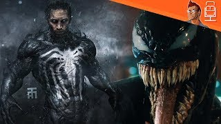 VENOM Will have the White Spider-Man Logo.. WHAT?
