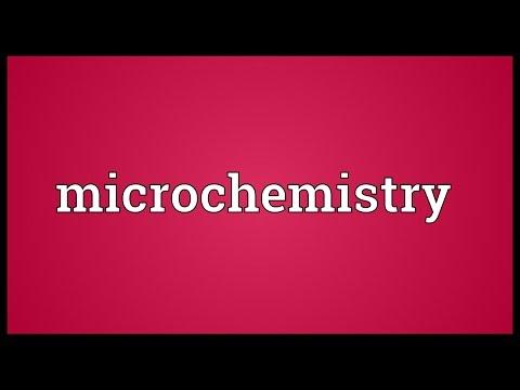 Header of microchemistry