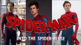 Into the Spiderverse : : Live Action Trailer (Parody)