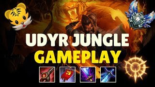 DEFINITELY NOT OP! PRESS THE ATTACK + TIGER STANCE UDYR  JUNGLE GAMEPLAY AND COMMENTARY