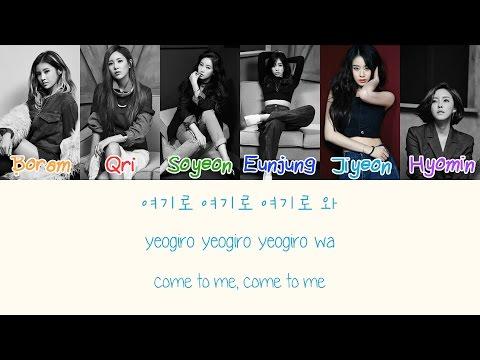 T ara Sugar Free {Color coded lyrics Han Rom Eng}