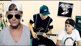 "If ""Without You"" by Avicii ft. Sandro Cavazza was a Rock Song 