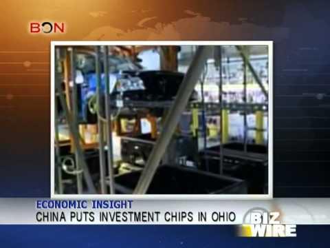 China puts investment chips in Ohio - Biz Wire - January 16,2014 - BONTV China