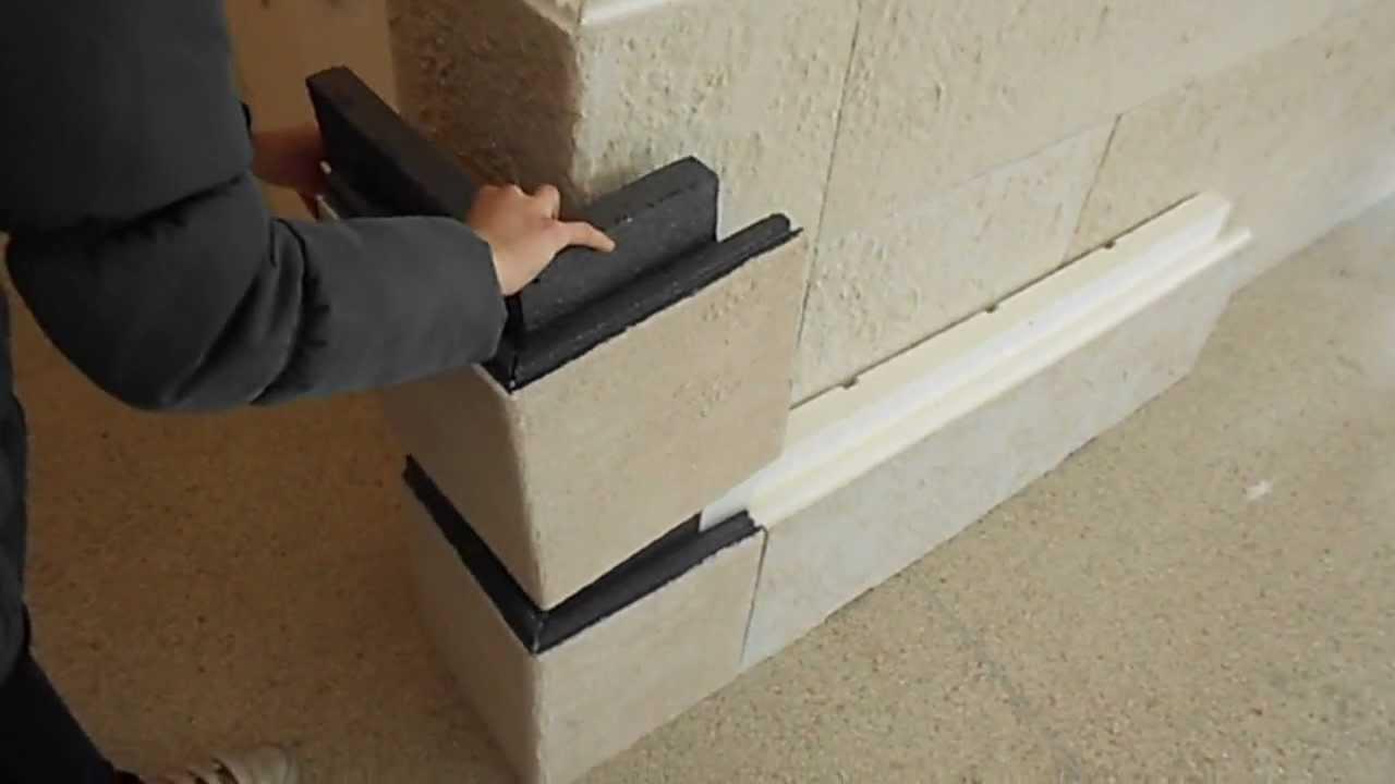 Modulo angolare simmetrico lati uguali incastro wall system cappotto corazzato youtube - Cappotto casa fai da te ...