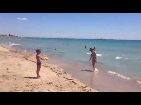 Погода в Крыму. Море. 10.07.2017