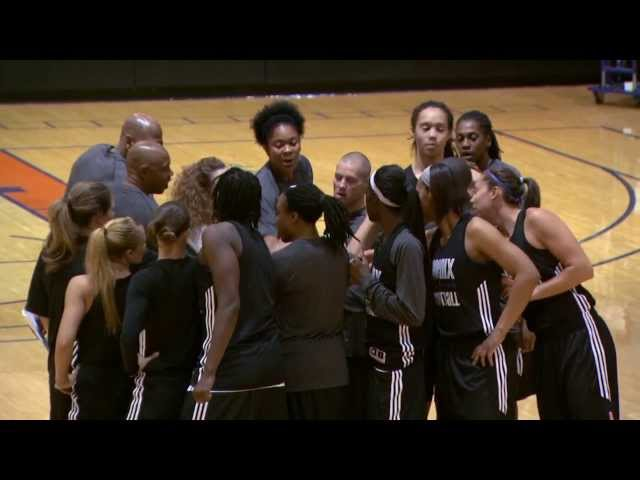 Brittney Griner's First Practice!