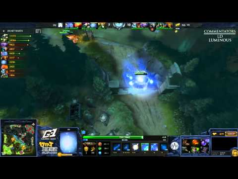 Na`Vi vs Alliance (NTH) - Game 1 (G-1 League - NA/EU Qualifier)