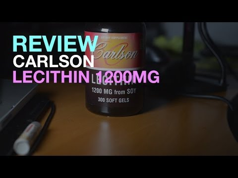 [REVIEW] Carlson Lecithin 1200mg for Nootropics Review