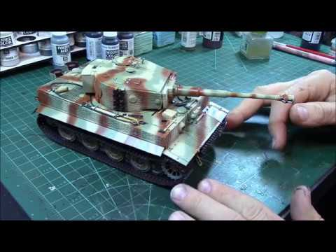 HOW TO PAINT AND WEATHER a GERMAN TIGER TANK PART 3