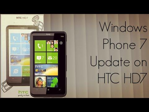 0 Windows Phone 7 Update on HTC HD7