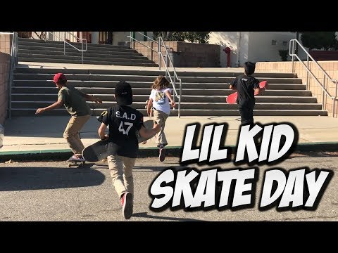 NEW LITTLE KID SKATEBOARDERS !!! - NKA VIDS -