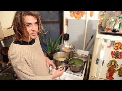Cooking Saag Paneer With Yaje Popson