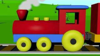 Learn colors with the color train for kids!