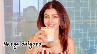 TRY THIS YUM TANG MANGO DALGONA | QUARANTINE SUMMER refreshing drink