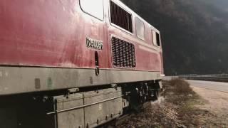 BDZ Henschel 75-006 departs Tsepina with 16105 13:20 Septemvri to Dobrinishte