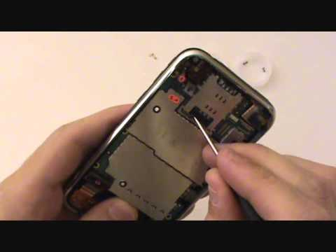 iPhone 3G/3GS Sync Port/Antenna/Microphone Replace Repair Replacement Video