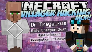Minecraft | VILLAGER HACKING MOD! (Watch Dogs Villager Secrets!) | Mod Showcase