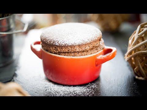 Шоколадное Суфле - вкусный шоколадный десерт / простой безглютеновый рецепт - Chocolate Souffle