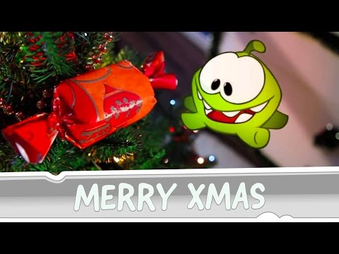 Om Nom Wishes You Merry Christmas!