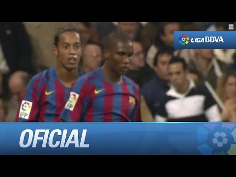 El golazo de Ronaldinho que hizo levantar al Bernabéu